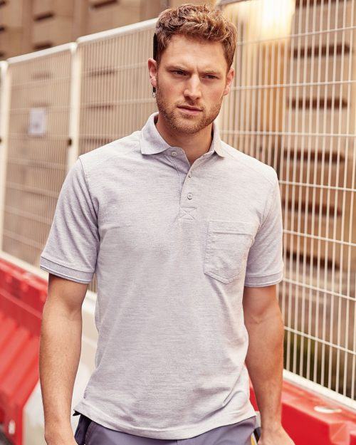 Russell Adult's Heavy Duty Cotton Polo