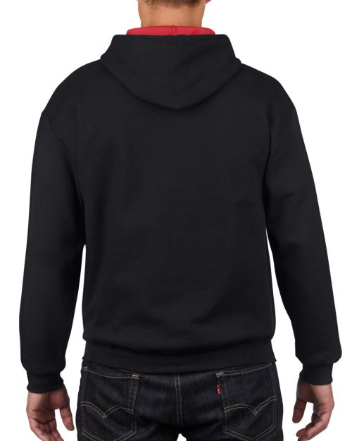 Gildan Heavy Blend™ Adult Contrast Hooded Sweatshirt