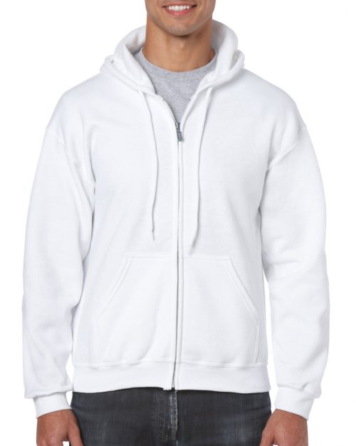 Gildan Heavy Blend™ Adult Full Zip Hooded Sweatshirt