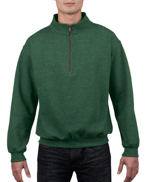 Gildan Heavy Blend™ Adult Cadet Collar Sweatshirt