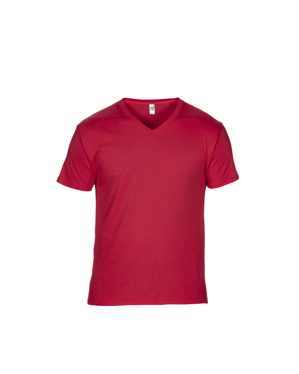Anvil Adult Featherweight V-Neck Tee