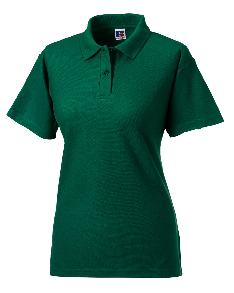Russell ladies 39 classic polycotton polo the t shirt man for Polo shirts for printing