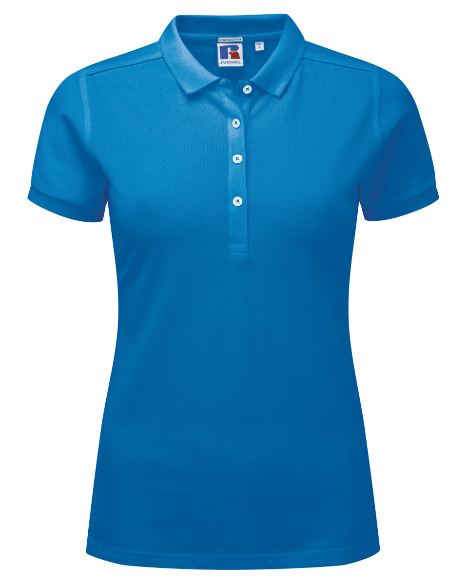 Russell Ladies' Stretch Polo
