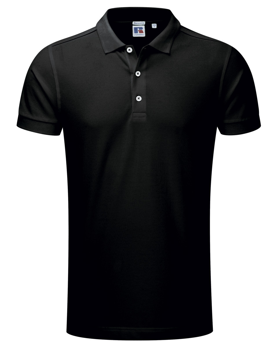 Russell Men's Stretch Polo
