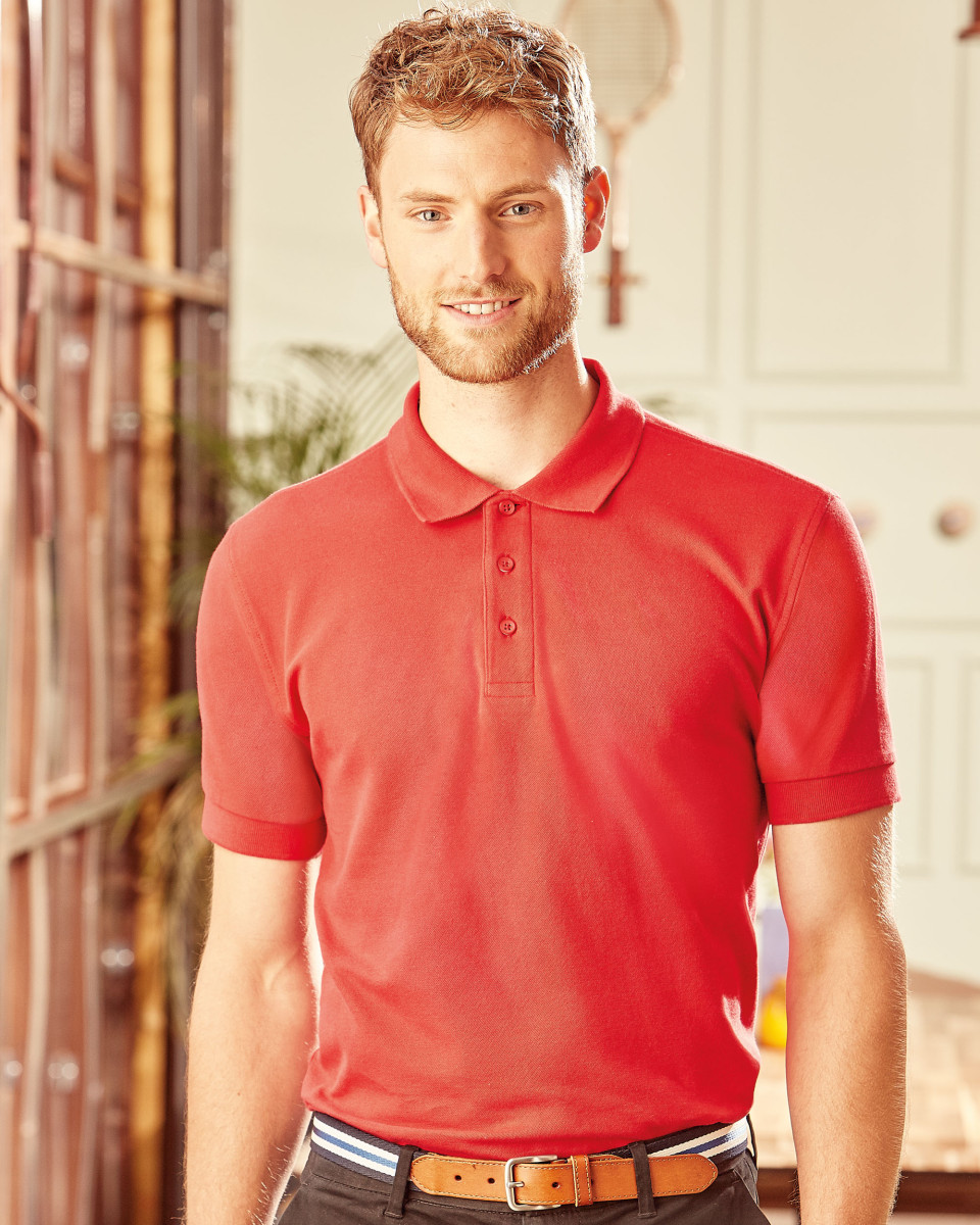 Russell Men's Ultimate Cotton Polo Shirt