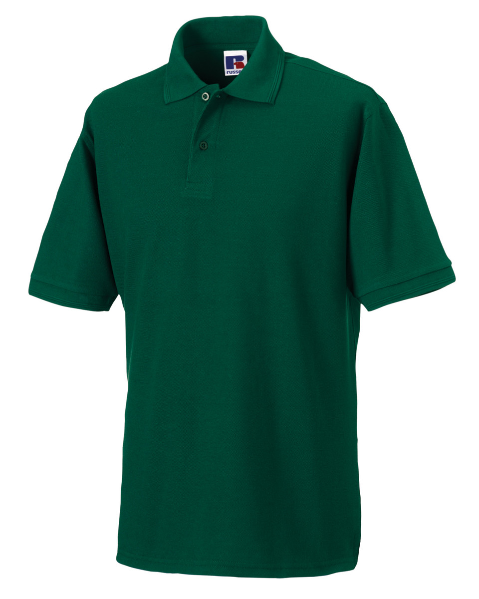 Russell hardwearing polycotton polo shirt the t shirt for Cheap fast t shirt printing