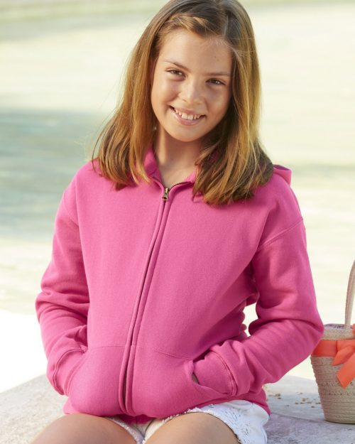 Fruit Of The Loom Children's Classic Hooded Sweat Jacket