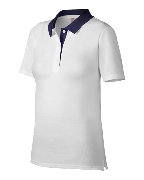 Anvil Women's Double Piqué Polo