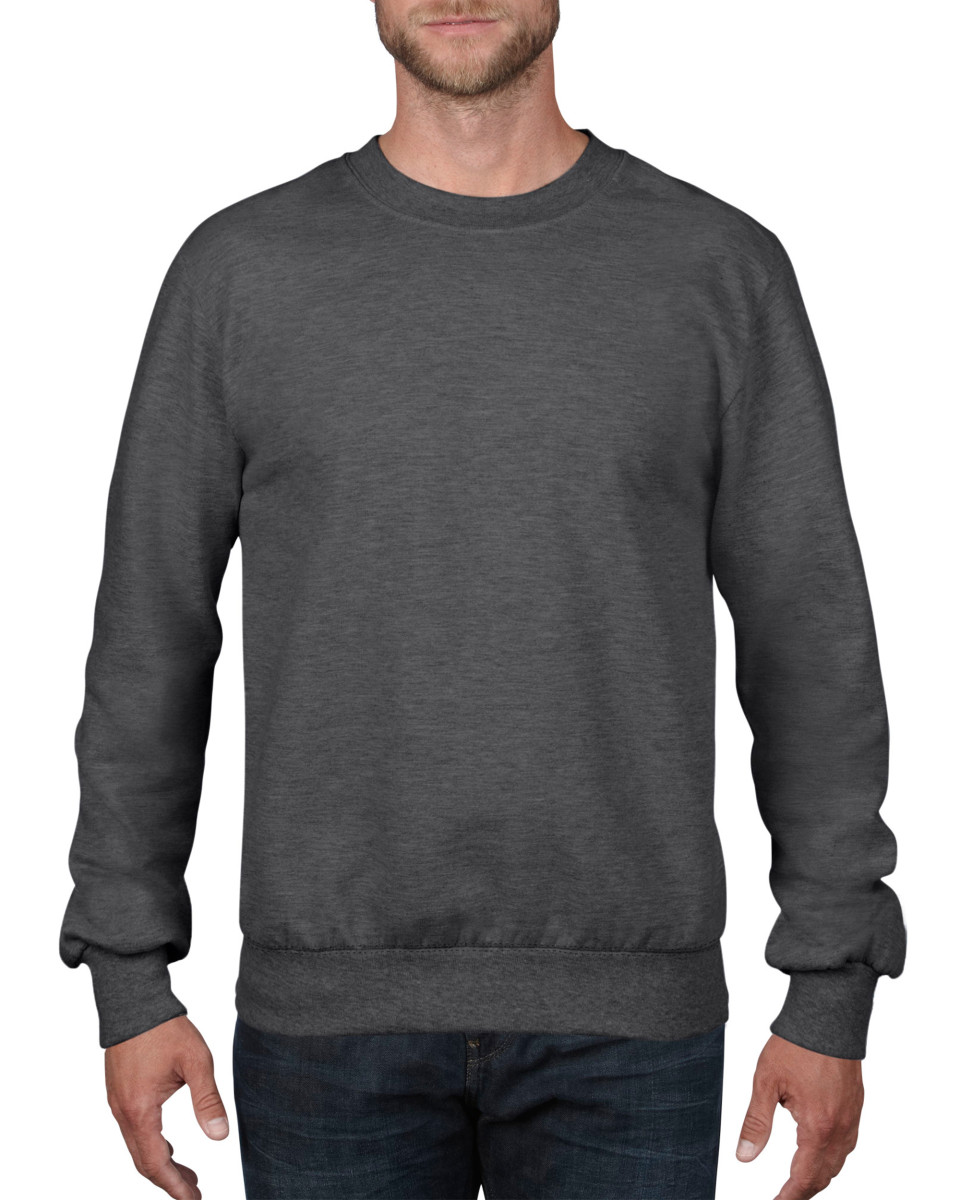 Anvil Adult Crewneck French Terry Sweatshirt
