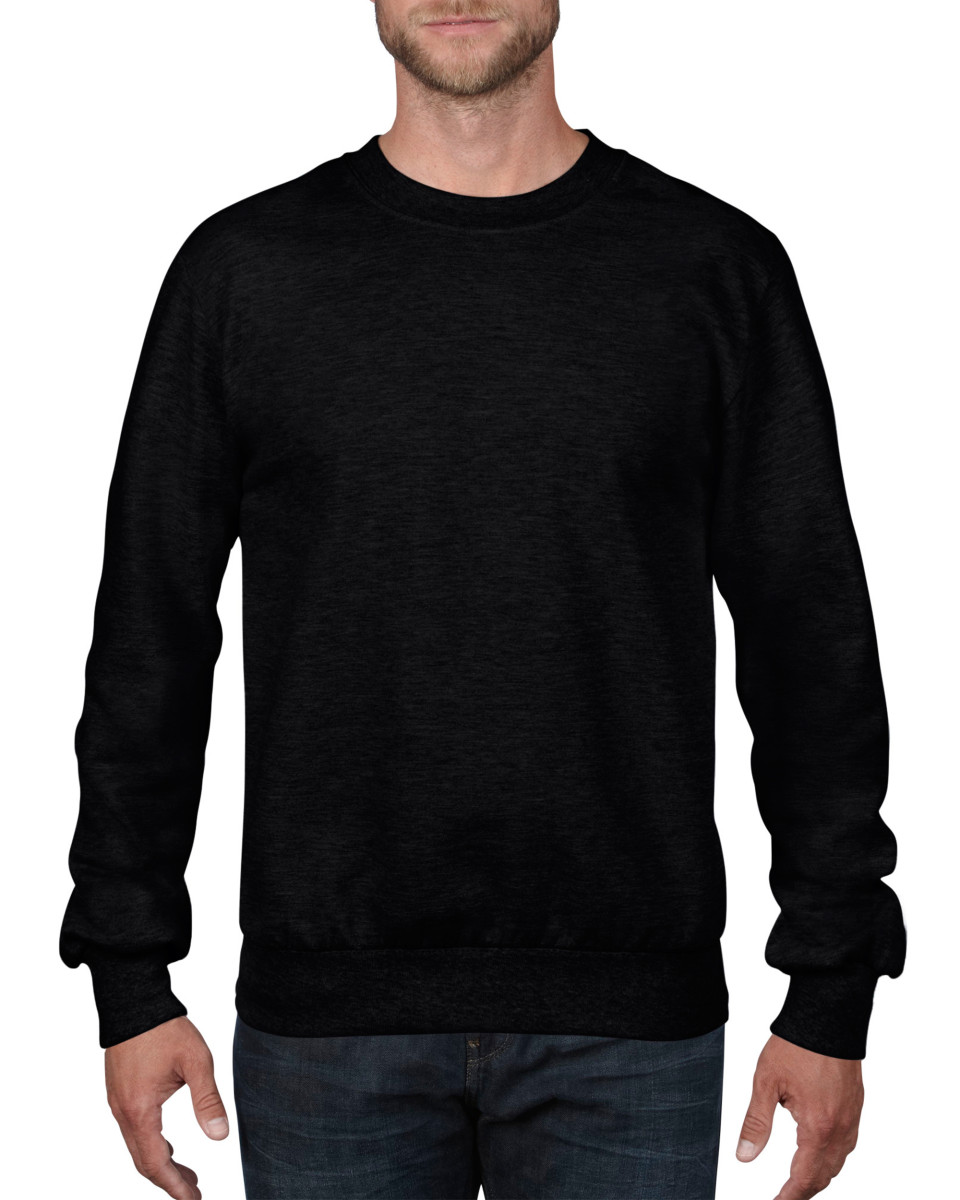 Anvil adult crewneck french terry sweatshirt the t shirt for Cheap fast t shirt printing