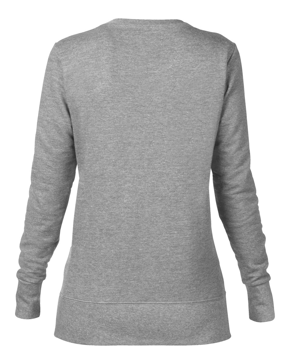 Anvil Women's Mid-Scoop French Terry Sweatshirt