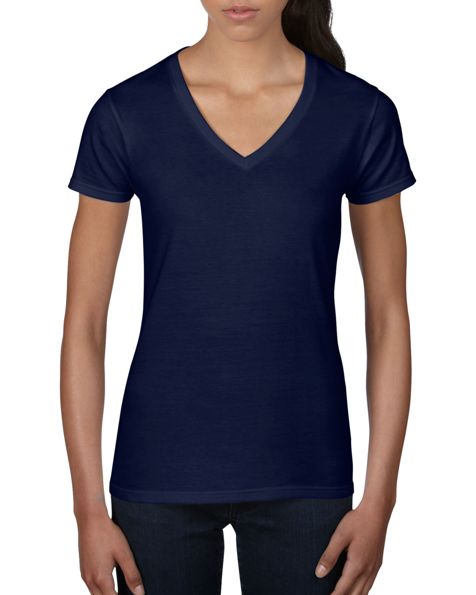 Anvil Women's Lightweight V-Neck Tee