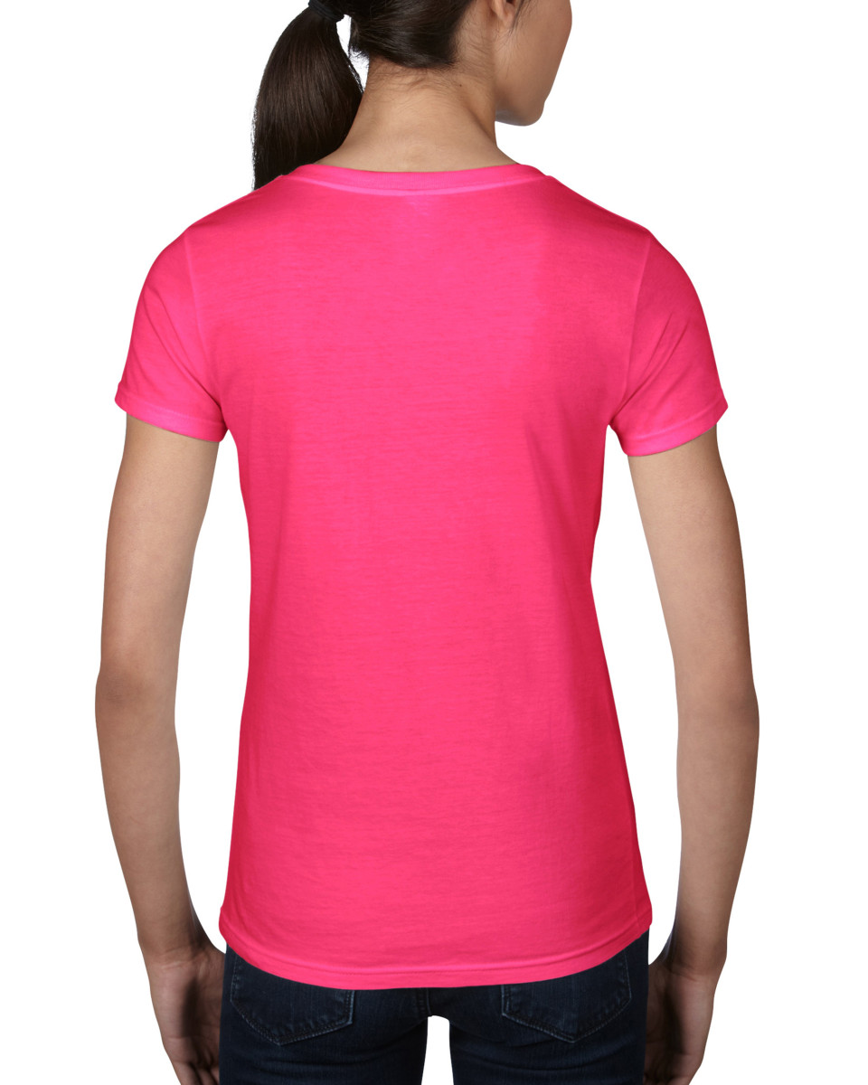 Anvil women 39 s lightweight v neck tee the t shirt man for Where are anvil shirts made