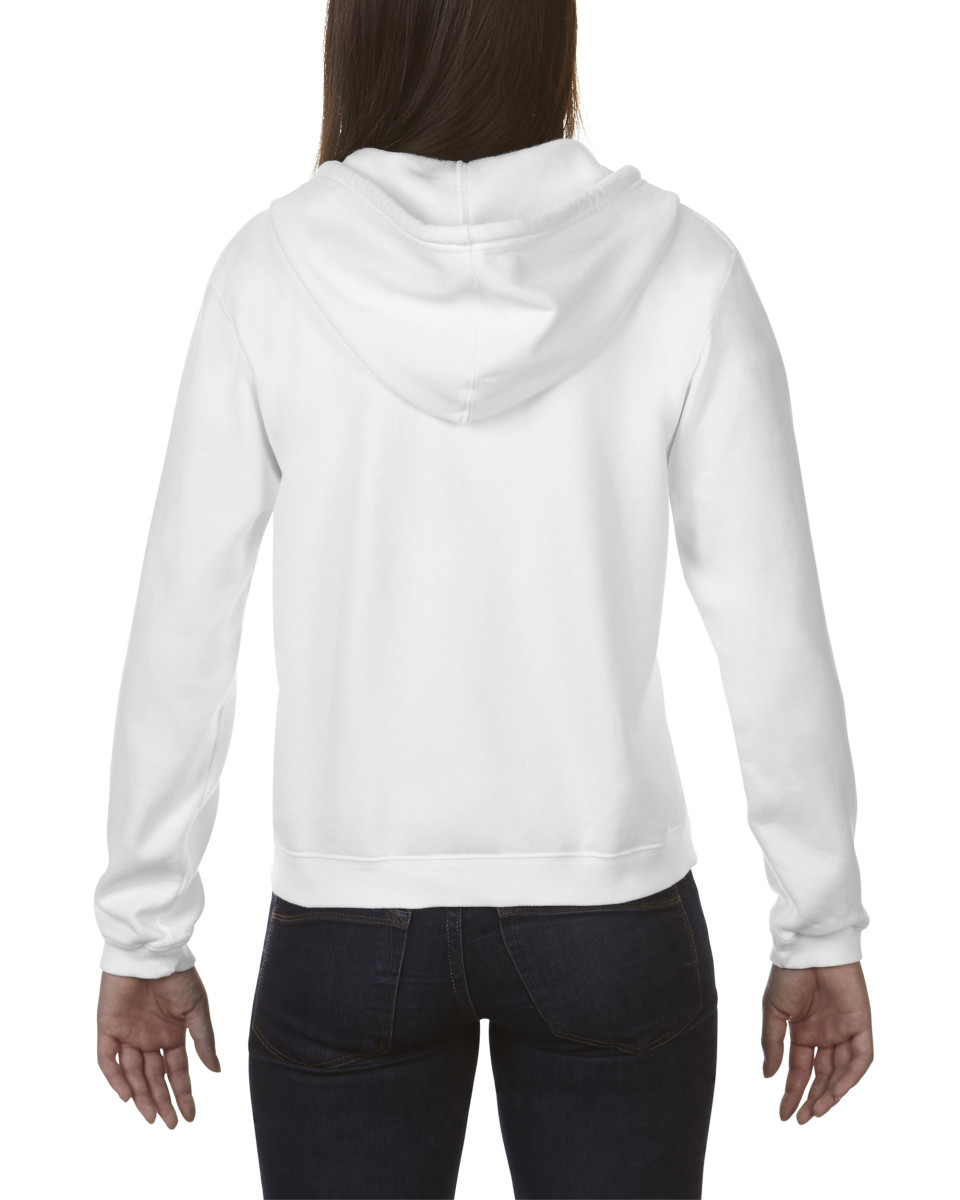 Comfort Colors Ladies' Full Zip Hooded Sweatshirt