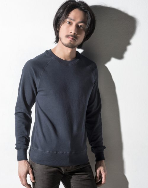 Nakedshirt Men's 'Clément' Raglan Sweat