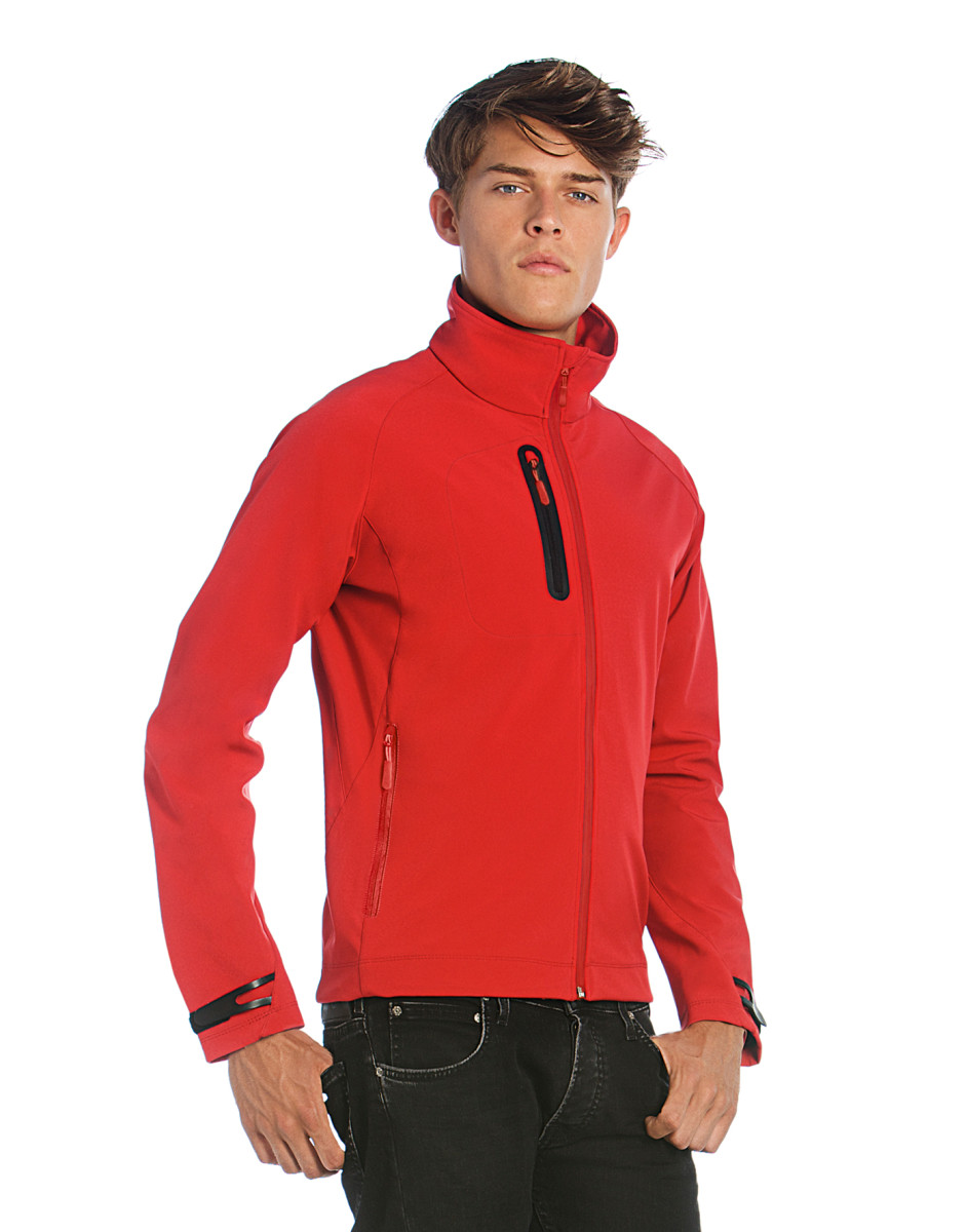 B and C Men's X-Lite Softshell