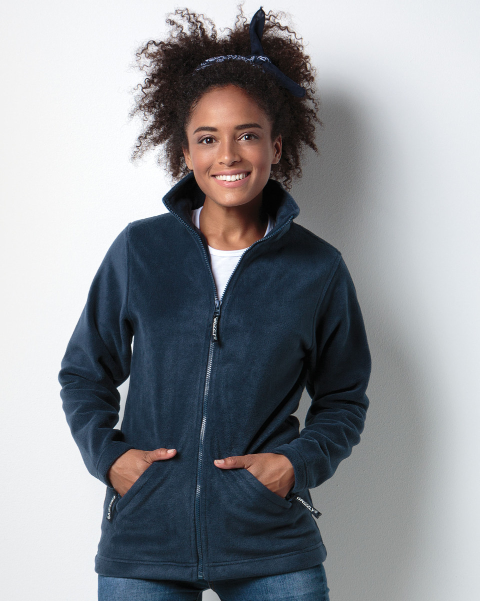 Kustom Kit Ladies' Grizzly Full Zip Active Fleece