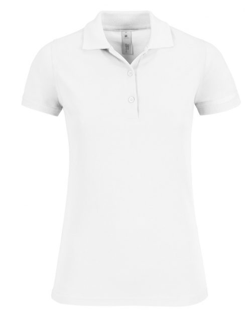 B and C Women's Safran Timeless Fine Piqué Polo