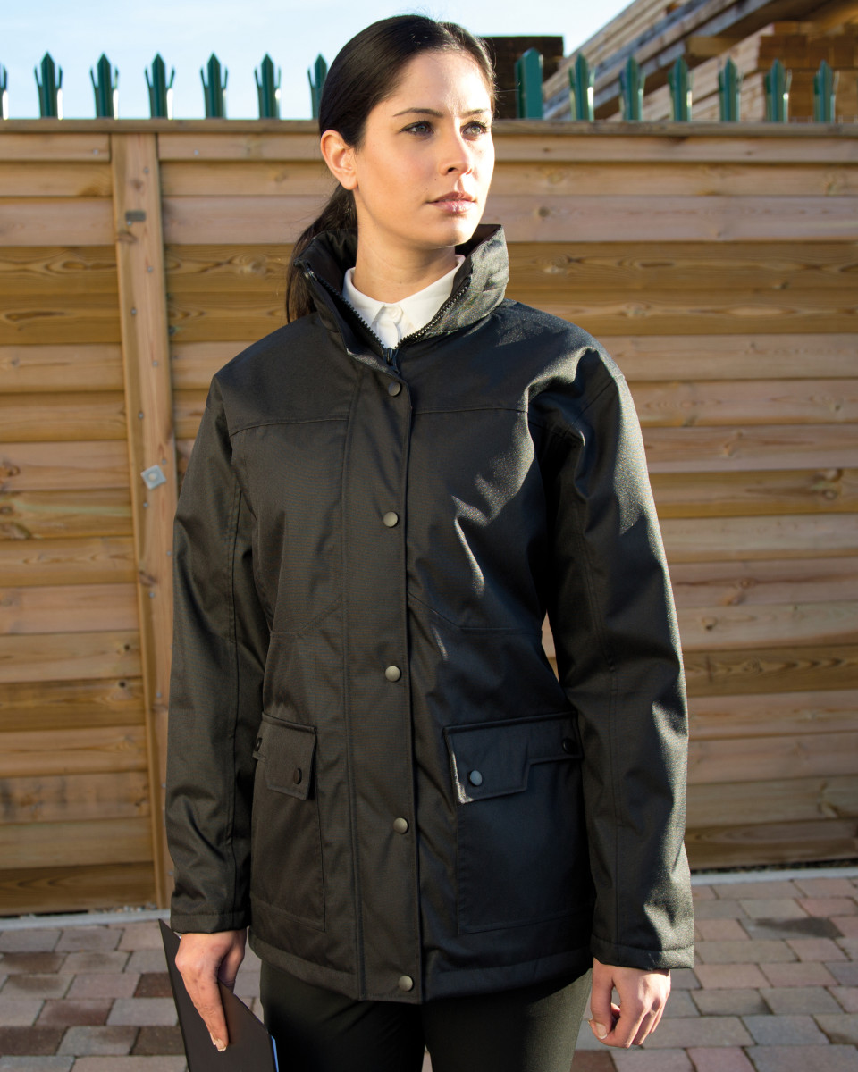 WORK-GUARD by Result Ladies' Platinum Managers Jacket