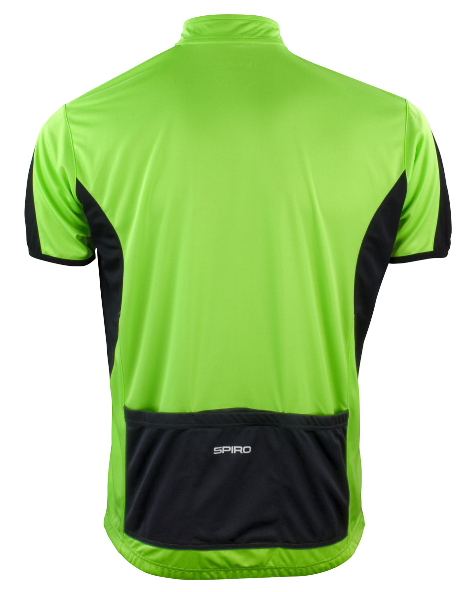 Short Sleeve Cycling T-Shirt S188M Spiro Men/'s Bikewear Full Zip Top