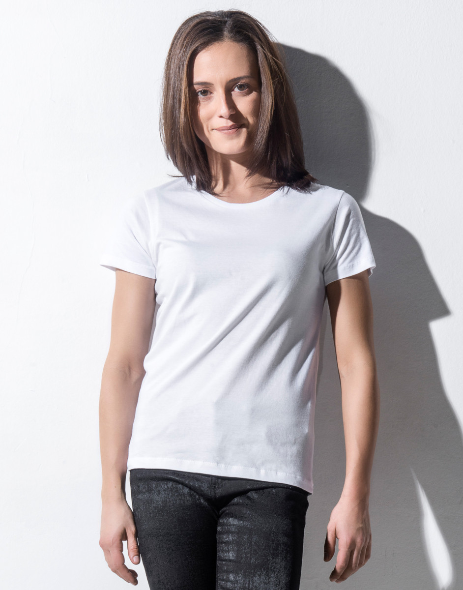 Nakedshirt Women's 'Sophie' Round Neck T-Shirt