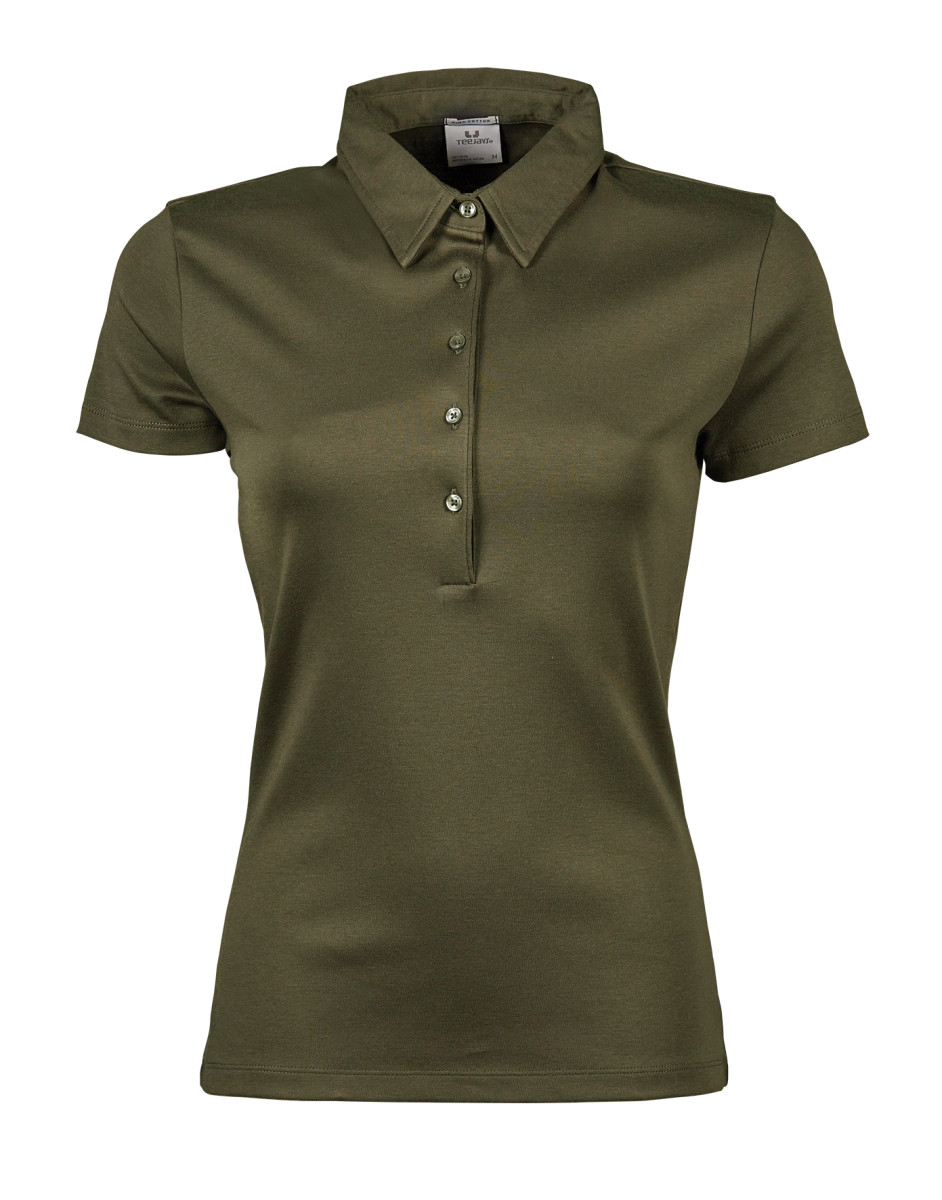 Tee jays ladies 39 pima cotton polo the t shirt man for Pima cotton tee shirts
