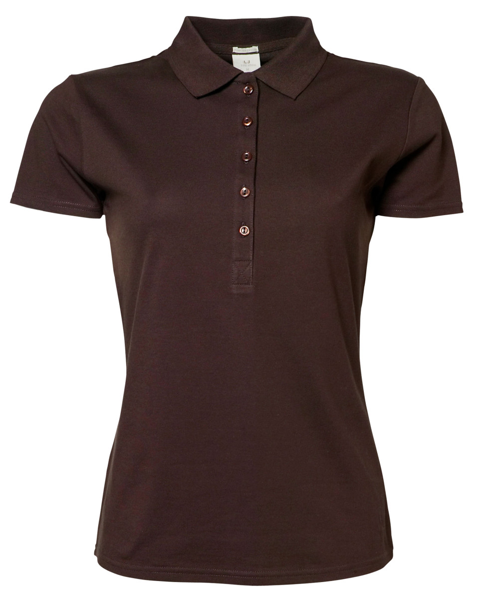 Tee Jays Ladies 39 Luxury Stretch Polo The T Shirt Man