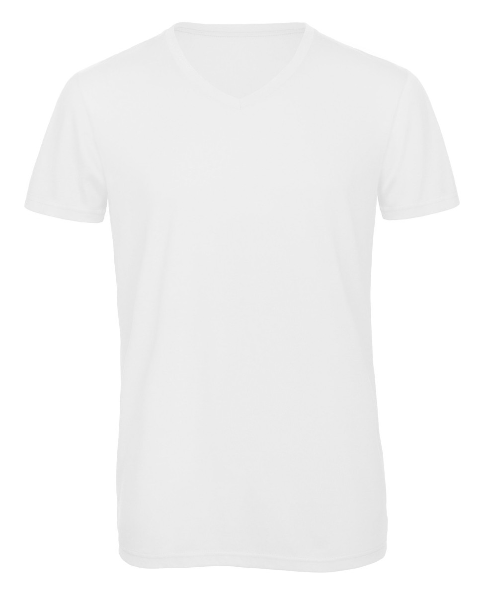 B and C Men's Favourite Triblend V-Neck Tee