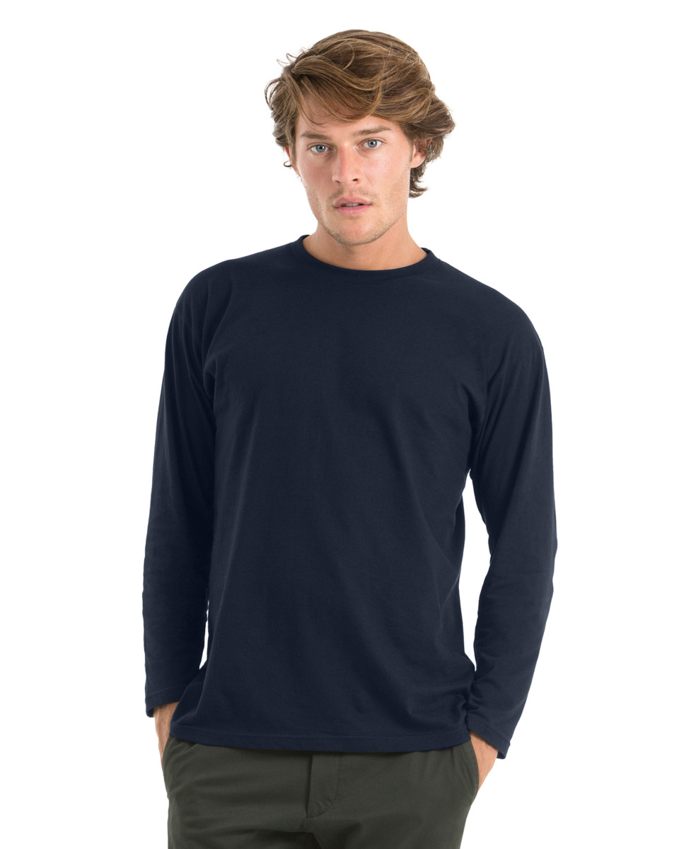 B and C Men's Exact 150 LSL T-Shirt