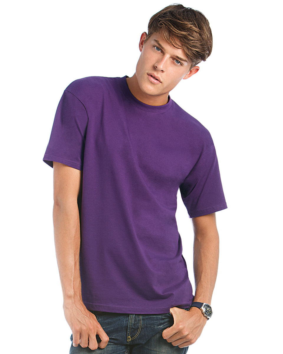 B and C Men's Exact 190 Crew Neck T-Shirt