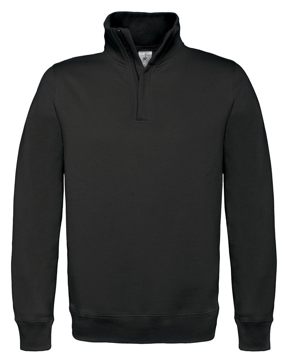 B and C ID.004 1/4 Zip Sweatshirt