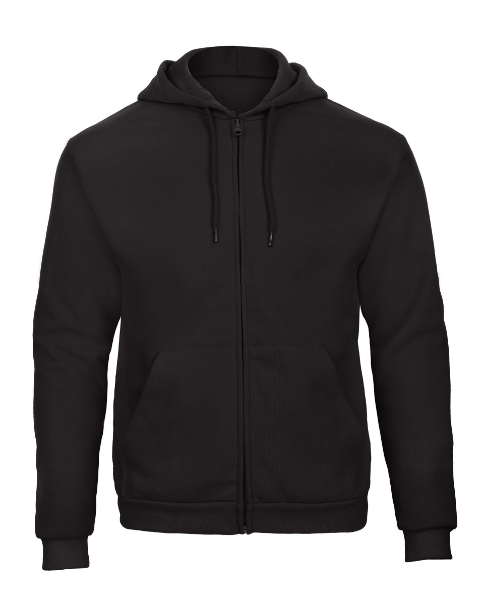 B and C Unisex ID.205 50/50 Full Zip Hooded Sweat
